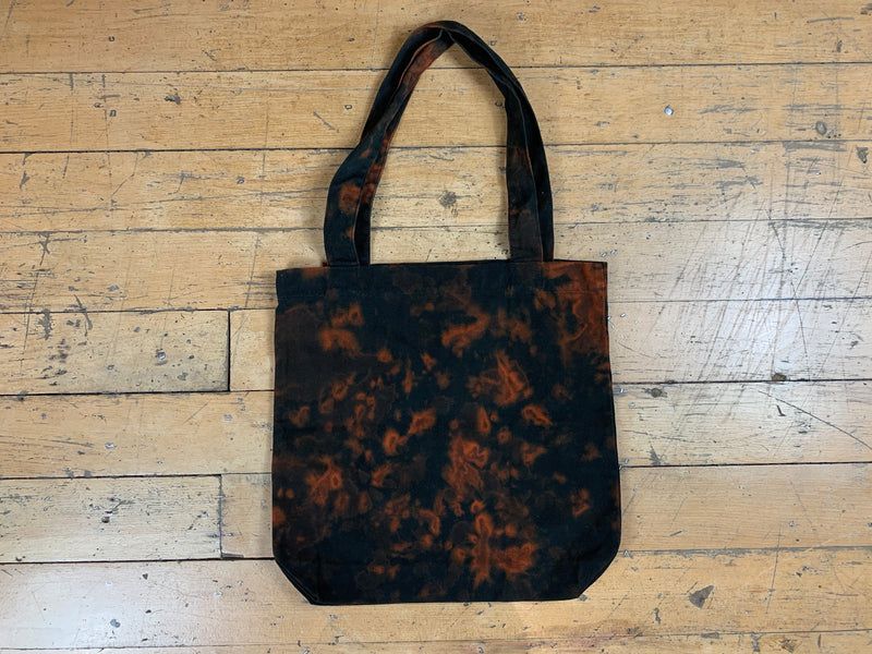 Shattered CDUST Tote Bag - Bleached