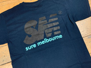 SM Logo New Tone - Navy/Black/Celadon