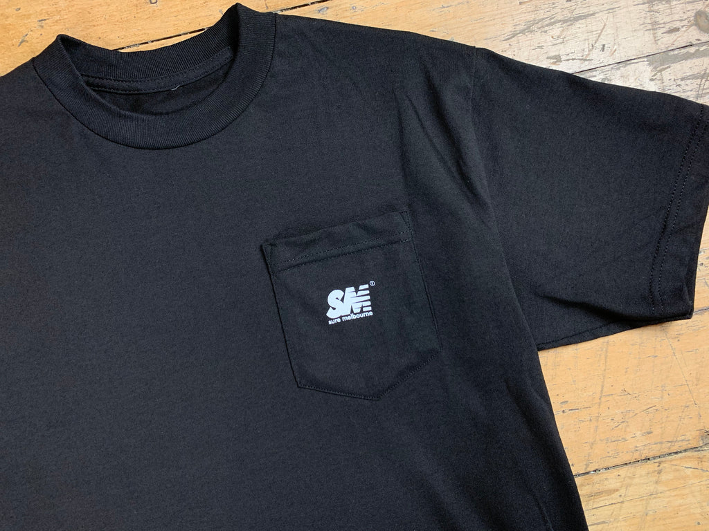SM Mini Logo Pocket T-Shirt - Black