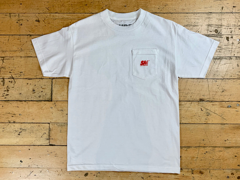 SM Mini Logo Pocket T-Shirt - White