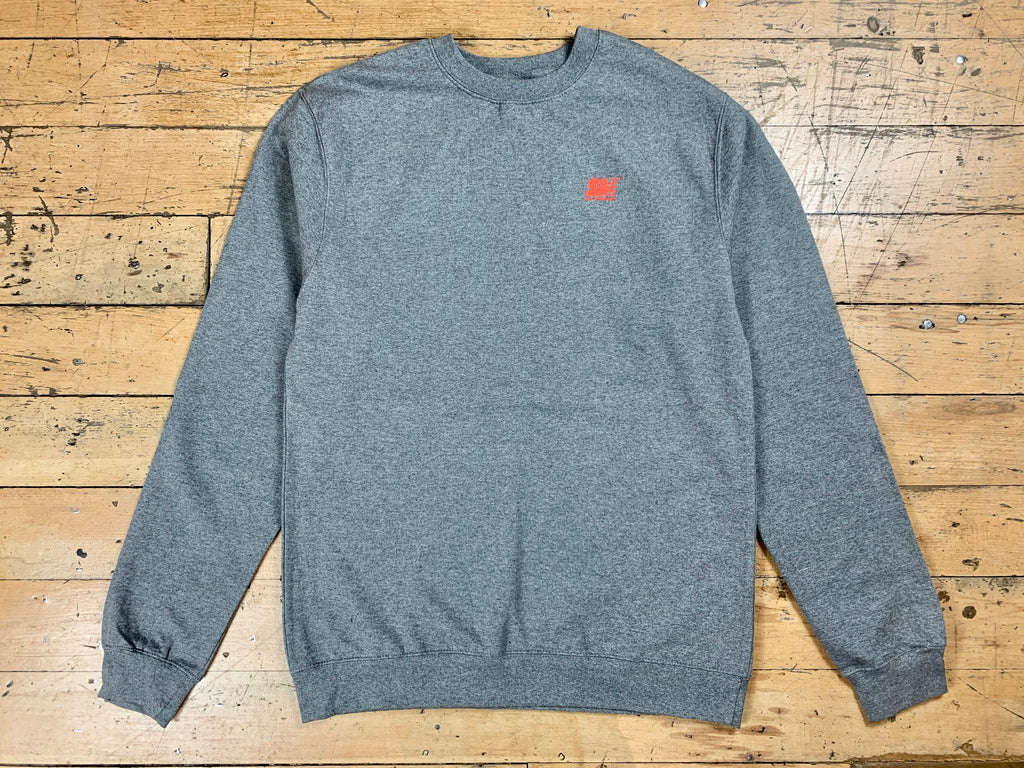 SM Mini Logo Crew - Heather Grey