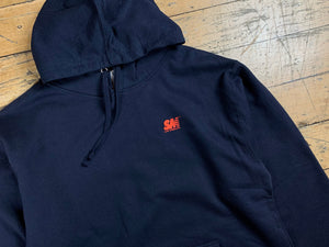 SM Mini Logo Hood - Navy