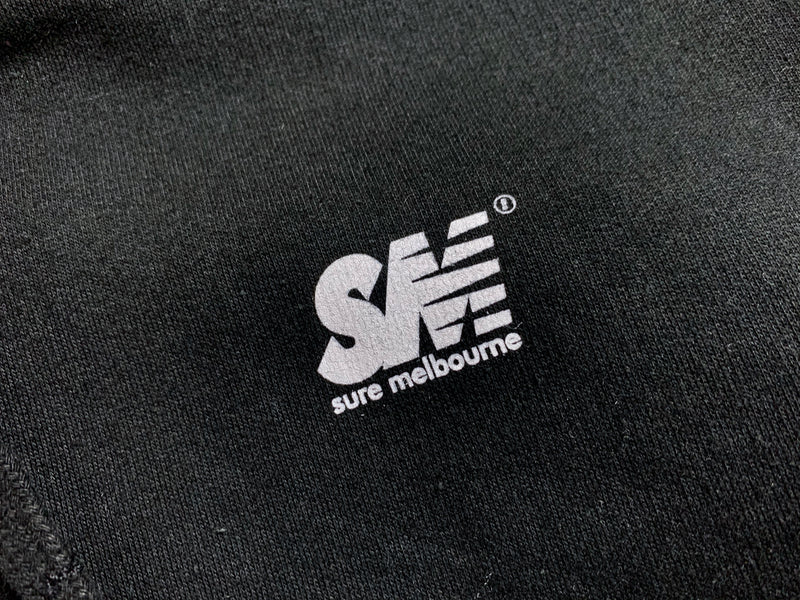 SM Mini Logo Hood - Black