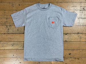 SM Mini Logo Pocket T-Shirt - Athletic Heather