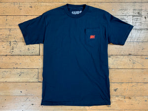 SM Mini Logo Pocket T-Shirt - Navy