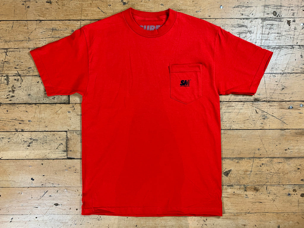 SM Mini Logo Pocket T-Shirt - Red