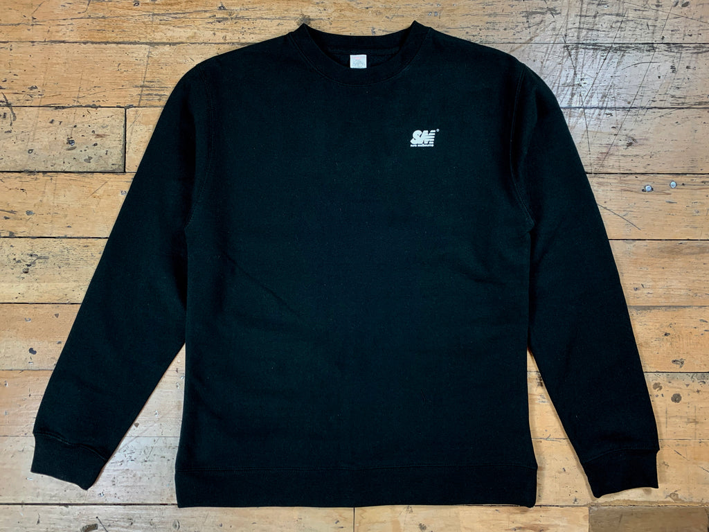 SM Mini Logo Crew - Black