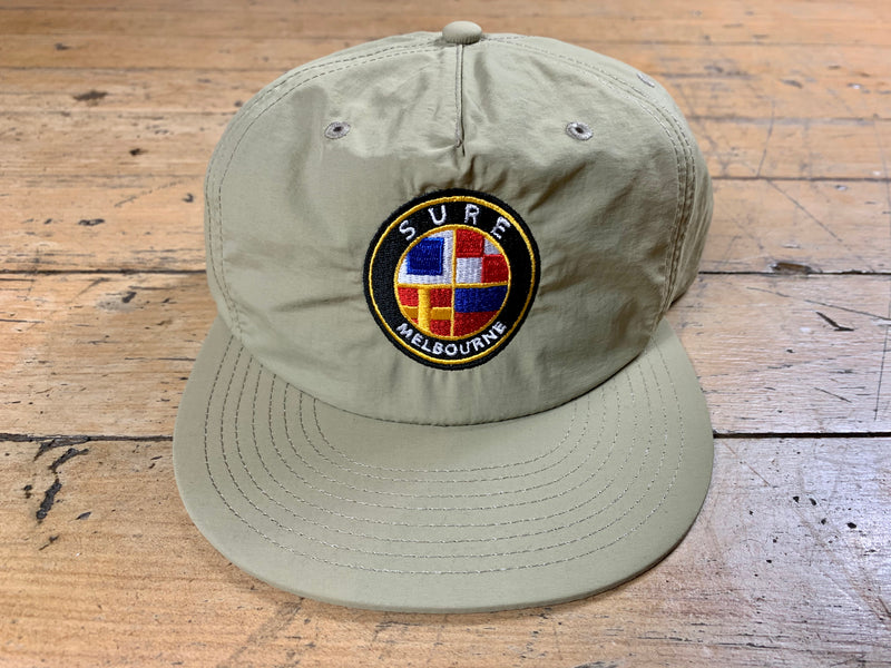 Badge Logo Surf Cap - Khaki