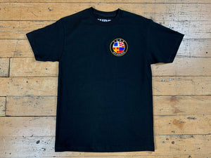 Badge Logo T-Shirt - Black