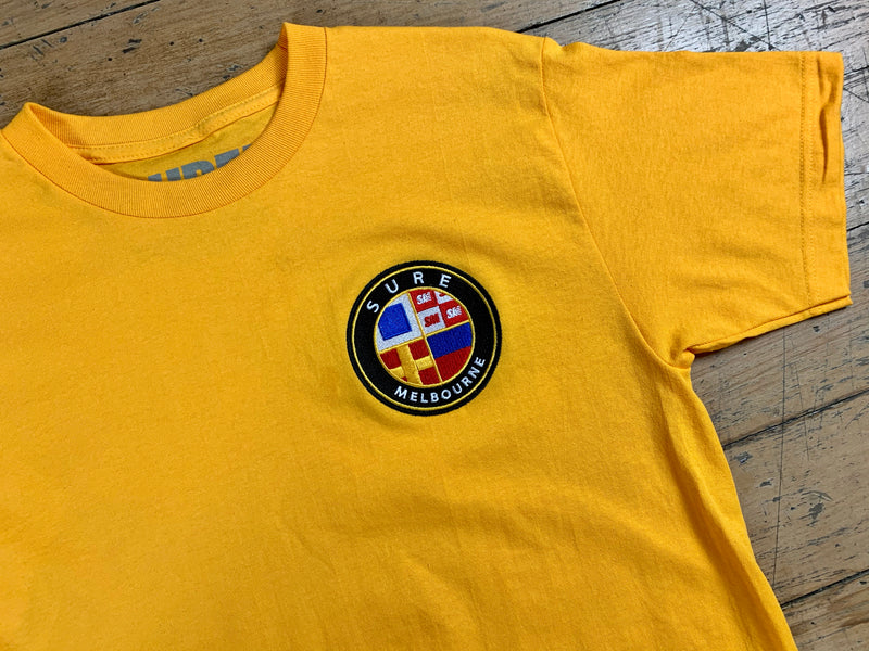 Badge Logo T-Shirt - Gold