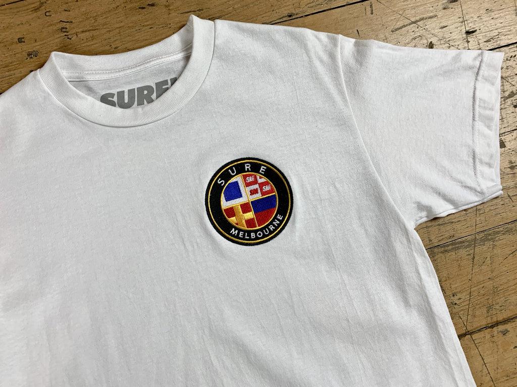 Badge Logo T-Shirt - White