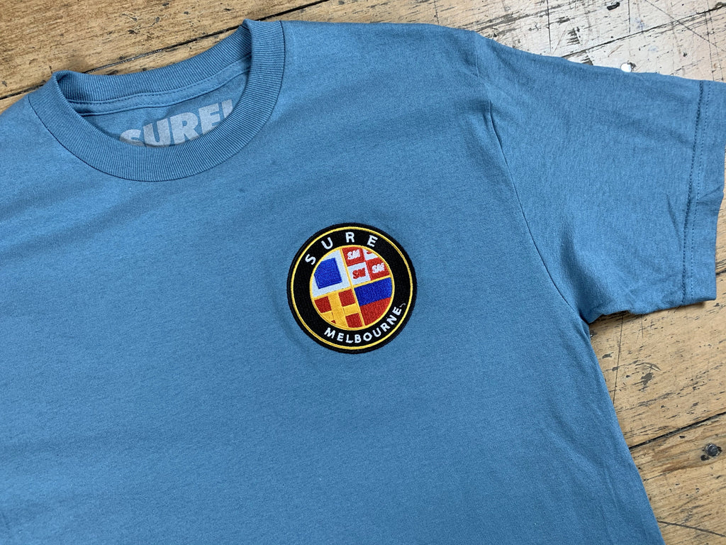 Badge Logo T-Shirt - Slate