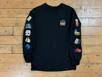 Bodega L/S T-shirt - Black