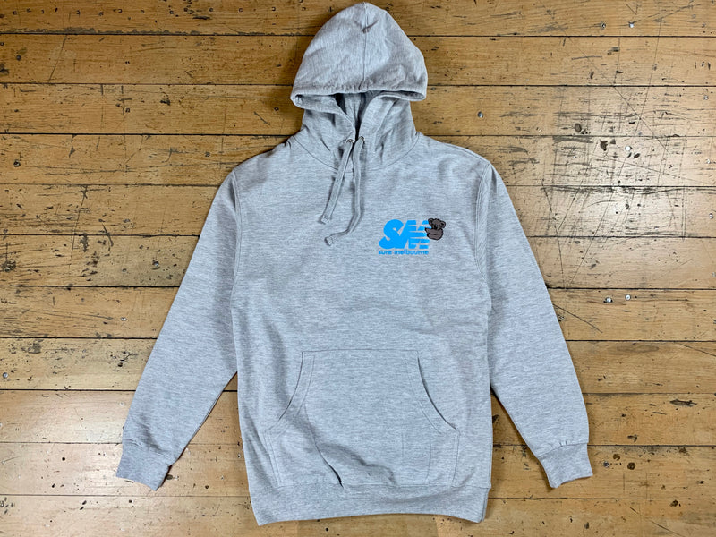 SM Clippy Hood - Heather Grey