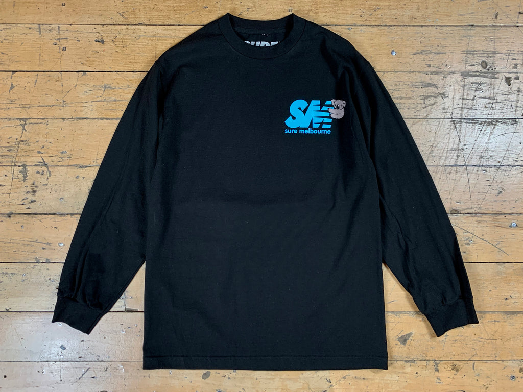 SM Clippy LS T-Shirt - Black