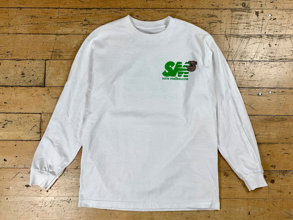 SM Clippy LS T-Shirt - White