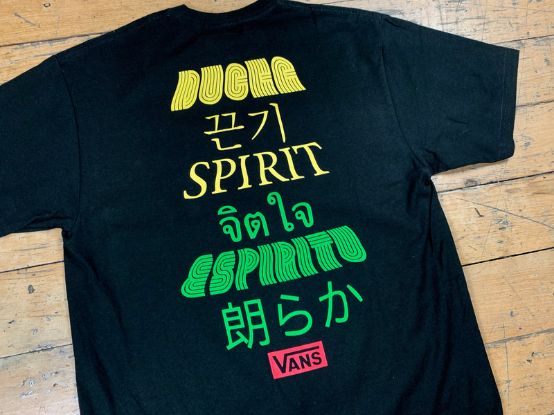 Vans Spirit T-Shirt - Black