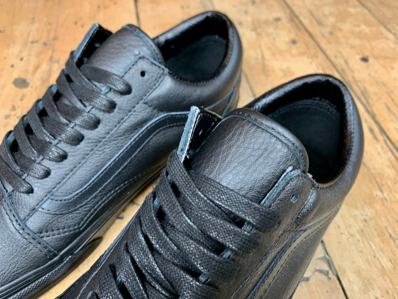 Old Skool Leather - Black / Black