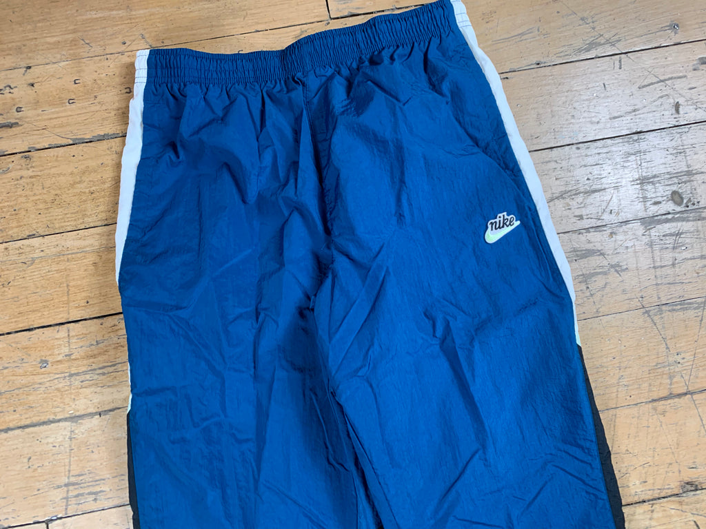 Nike Sportswear Heritage Windrunner Track Pants - Blue Force/White/Barely Volt