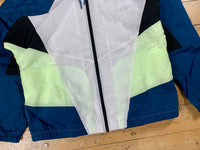 Nike Sportswear Heritage Windrunner Jacket - Blue Force/White/Barely Volt