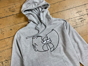 Wu-mer Embroidered Hood - Grey Heather