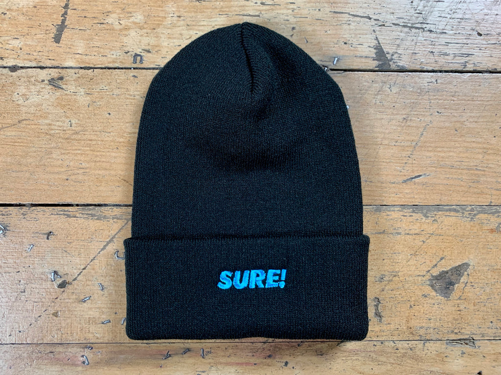 Sure Logo Beanie - Black