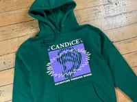 Through Sound Hoodie - Alpine Green