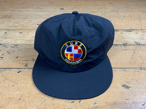 Badge Logo Surf Cap - Navy