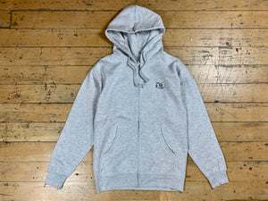 Wu-mer Embroidered Zip Hood - Athletic Heather
