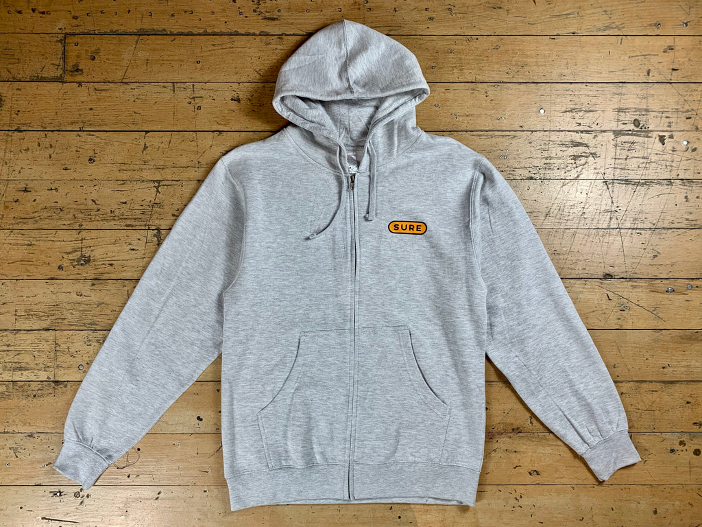 Heartbeat Zip Hood - Athletic Heather