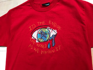 The End Tee - Red