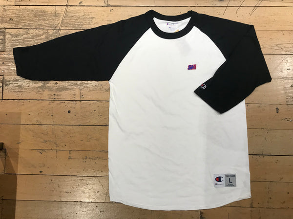 Champion SM Embroid Raglan - White