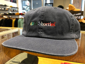 Text Logo Cap - Navy