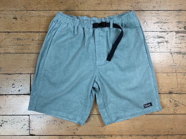 Cord Shorts - Pale Green