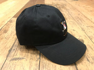 Wimpy Huf Dad Hat - Black