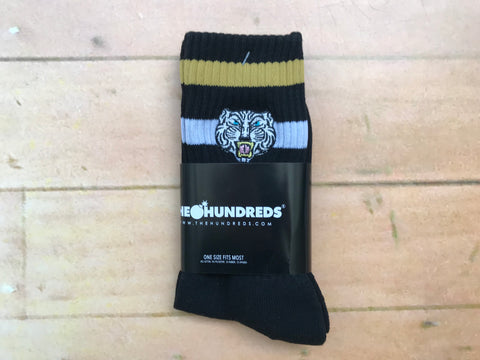 Tiger Crew Sock - Black
