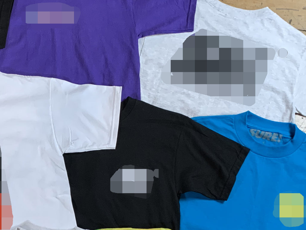4 Size Small Sure Mystery T-Shirts