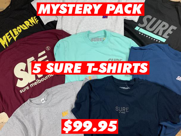 Sure Mystery T-Shirt Pack!