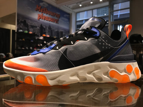 React Element 87 - Wolf Grey/Black-Thunder Blue
