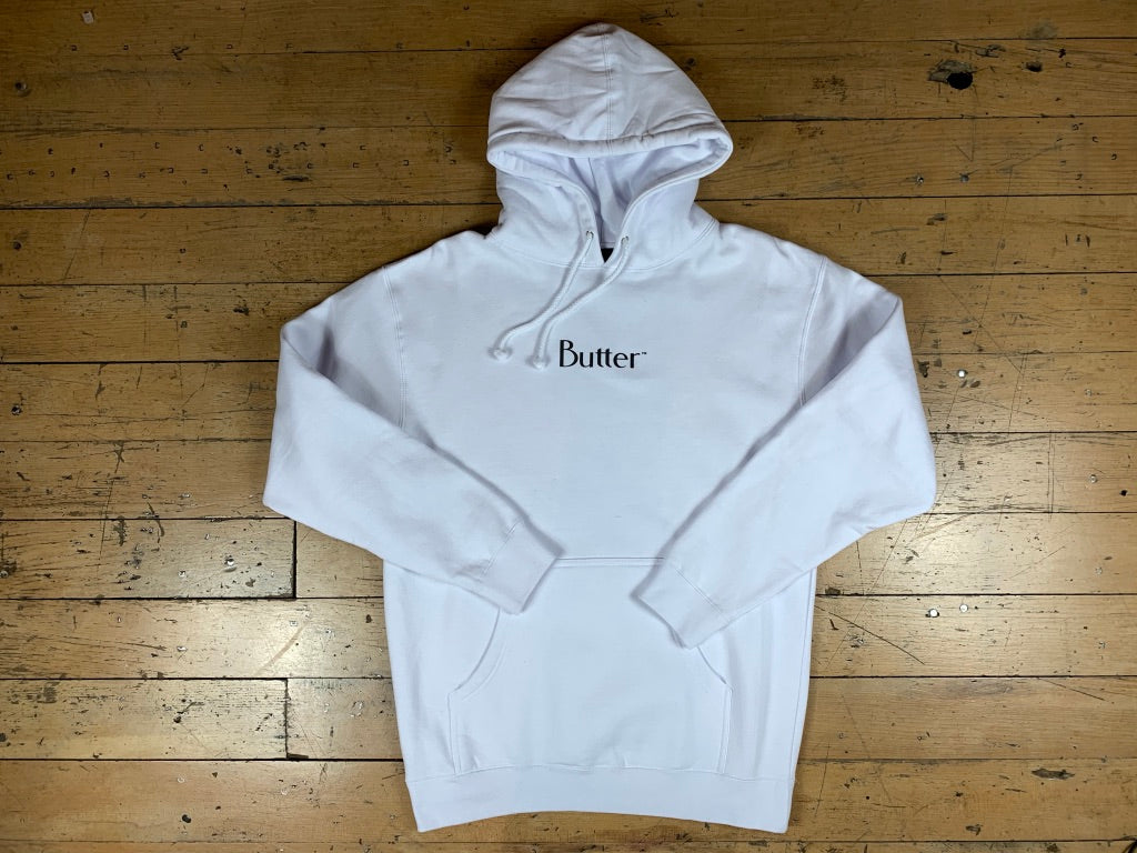 Reflective Classic Logo Pullover Hood - White