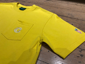 C Patch Pocket T-Shirt - Yellow