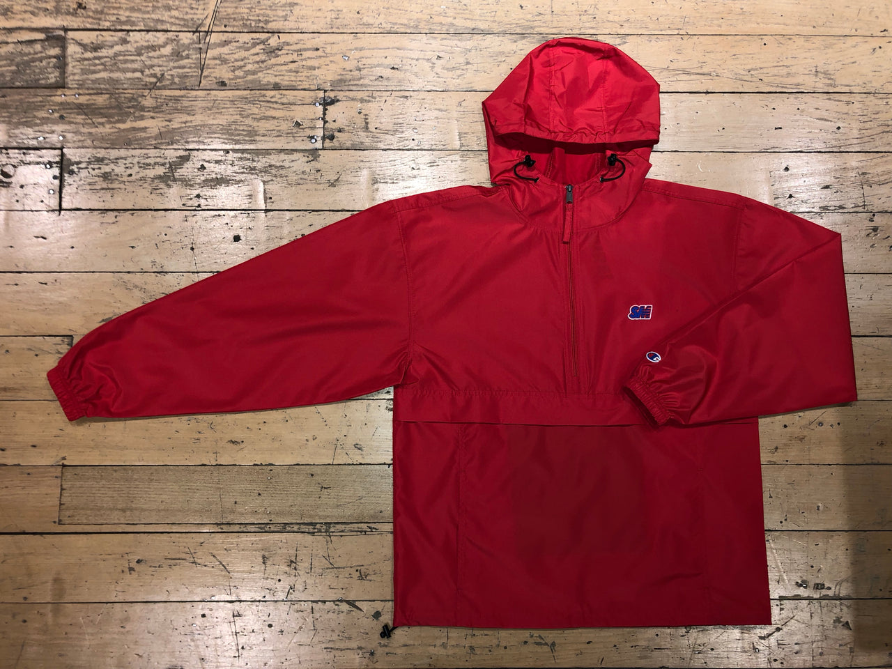 Champion SM Embroid Packabale Jacket - Red