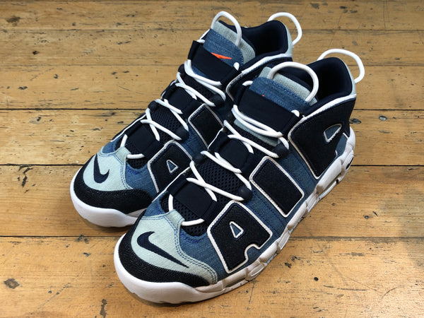 Air More Uptempo '96 QS - White/Obsidian/Total Orange