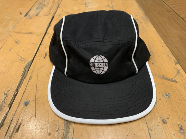 Piping Camp Cap - Black