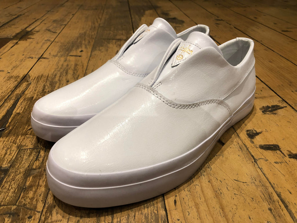 Size 09 & 11 HALF PRICE Dylan Slip On - White