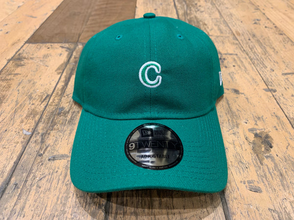 C Patch New Era Caps - Kelly Green