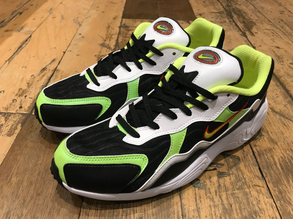 Size 07 UNDER HALF PRICE Air Zoom Alpha - Black/Volt/Habanero