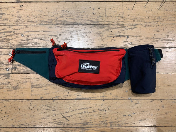 Santosuosso Utility Bag - Navy/Red/Green