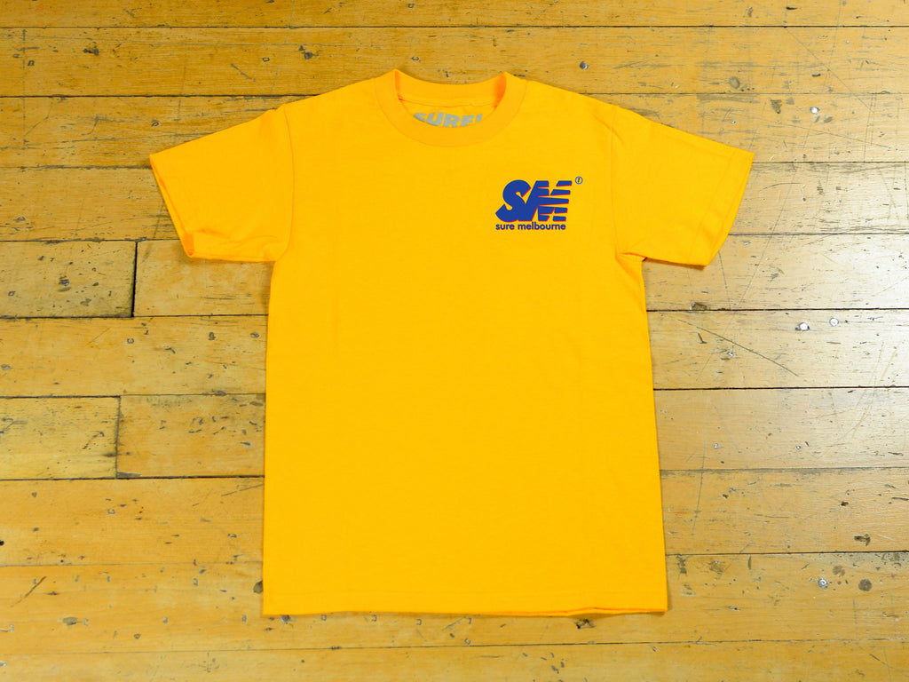 SM Shadow T-Shirt - Gold / Navy / Red