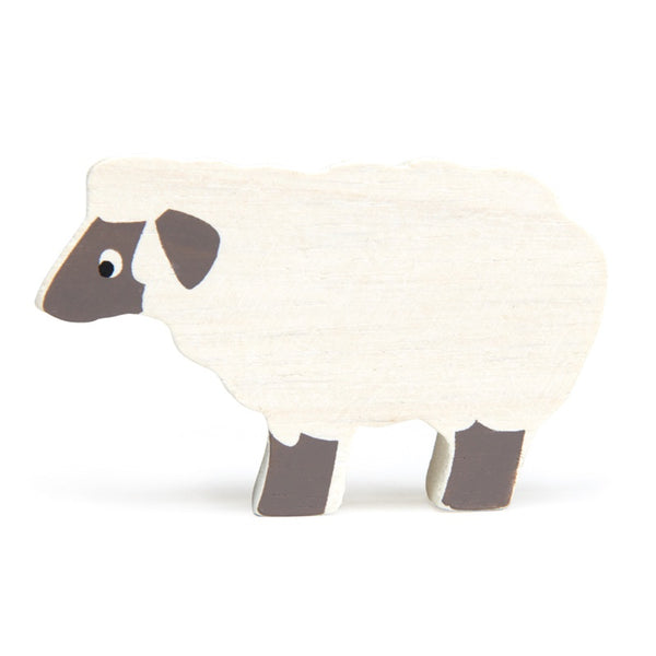 Tender leaf wooden sheep